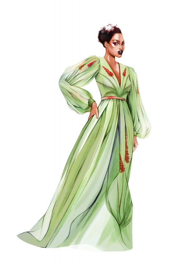 "Bildband ""Flora Fashion"""