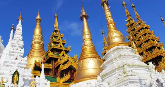Reisen in ein schönes Myanmar