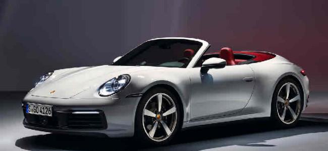 Porsche präsentiert neues 911 Carrera Cabriolet