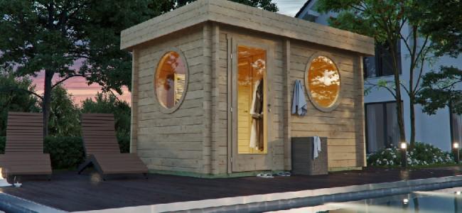 Ihre Sauna direkt vor der Haustür