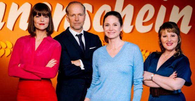 V.l.: Susan Hoecke, Jochen Horst, Ellenie Salvo González und Nina Vorbrodt Foto: TVNOW / Martin Rottenkolber