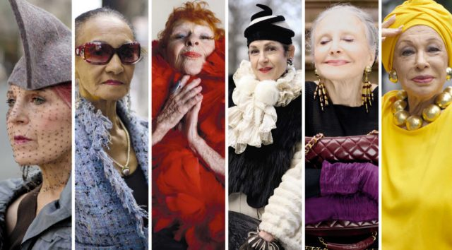 V.l.: Debra Rapoport, Jacquie Murdock, Ilona Smithkin, Tziporah Salamon, Joyce Carpati, Lynn Dell Foto: MG RTL D / ADVANCED STYLE THE DOCUMENTARY LLC. All Rights Reserved.