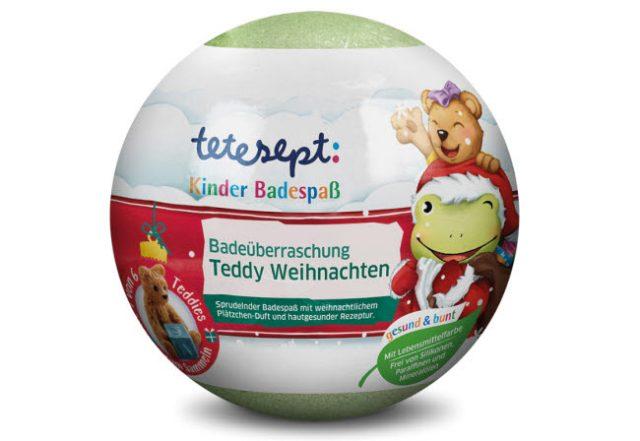 Badeüberraschung Teddy Weihnachten von telesept